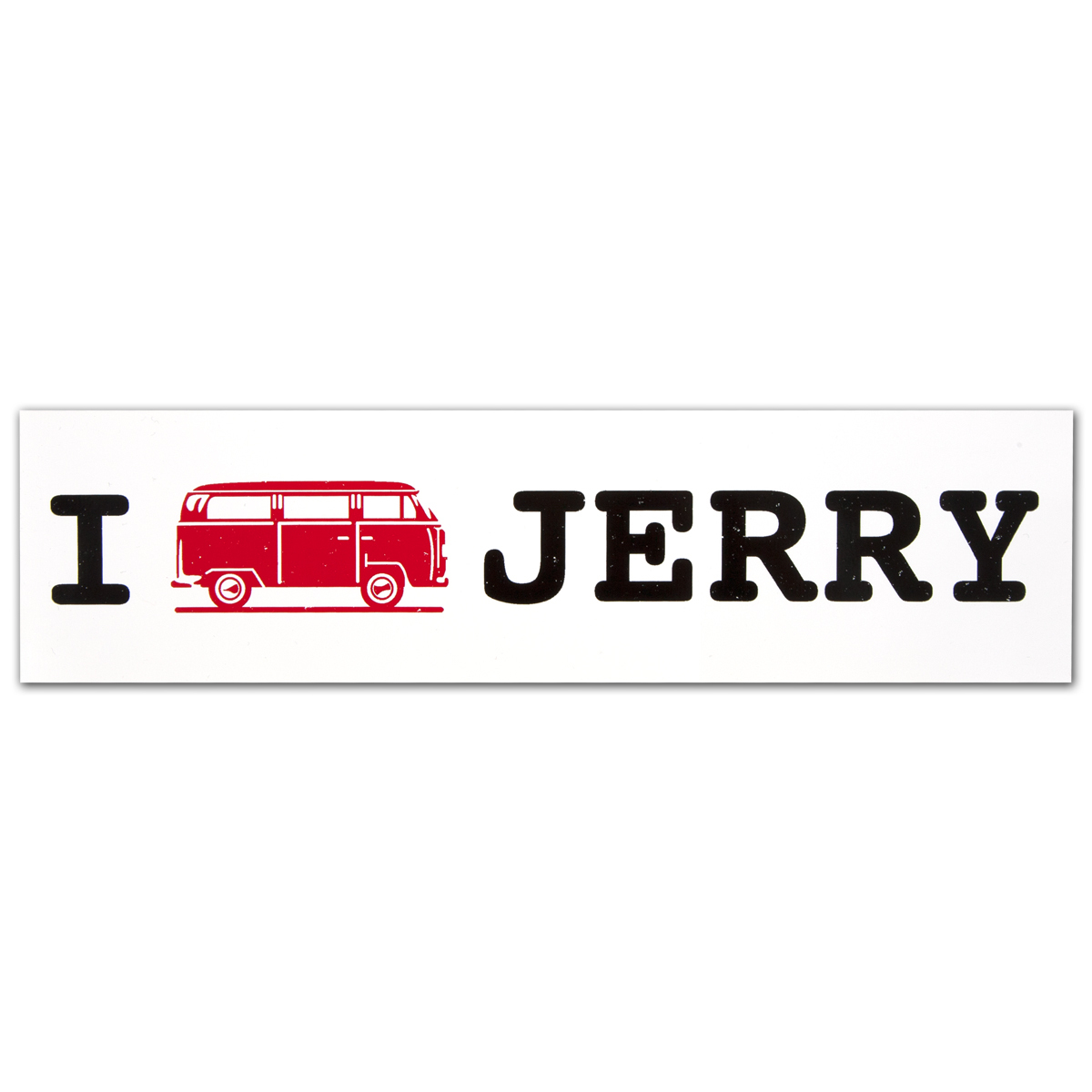 Jerry Garcia Bus Bumpersticker