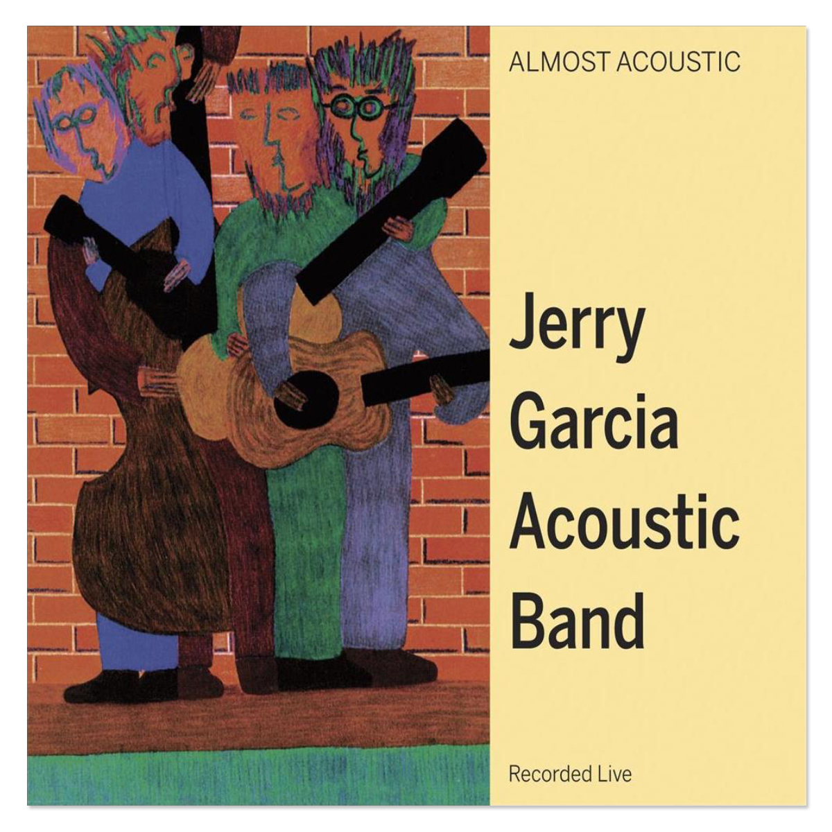 Jerry Garcia Acoustic Band - Almost Acoustic CD