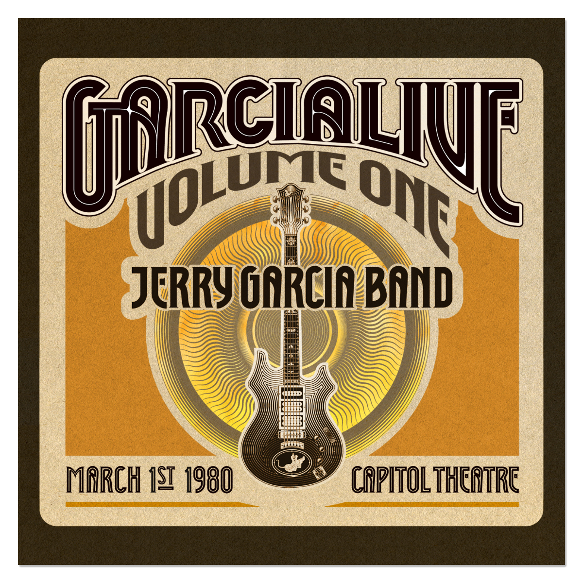 Jerry Garcia Band - GarciaLive Volume 1: 3/1/80 3-CD Set