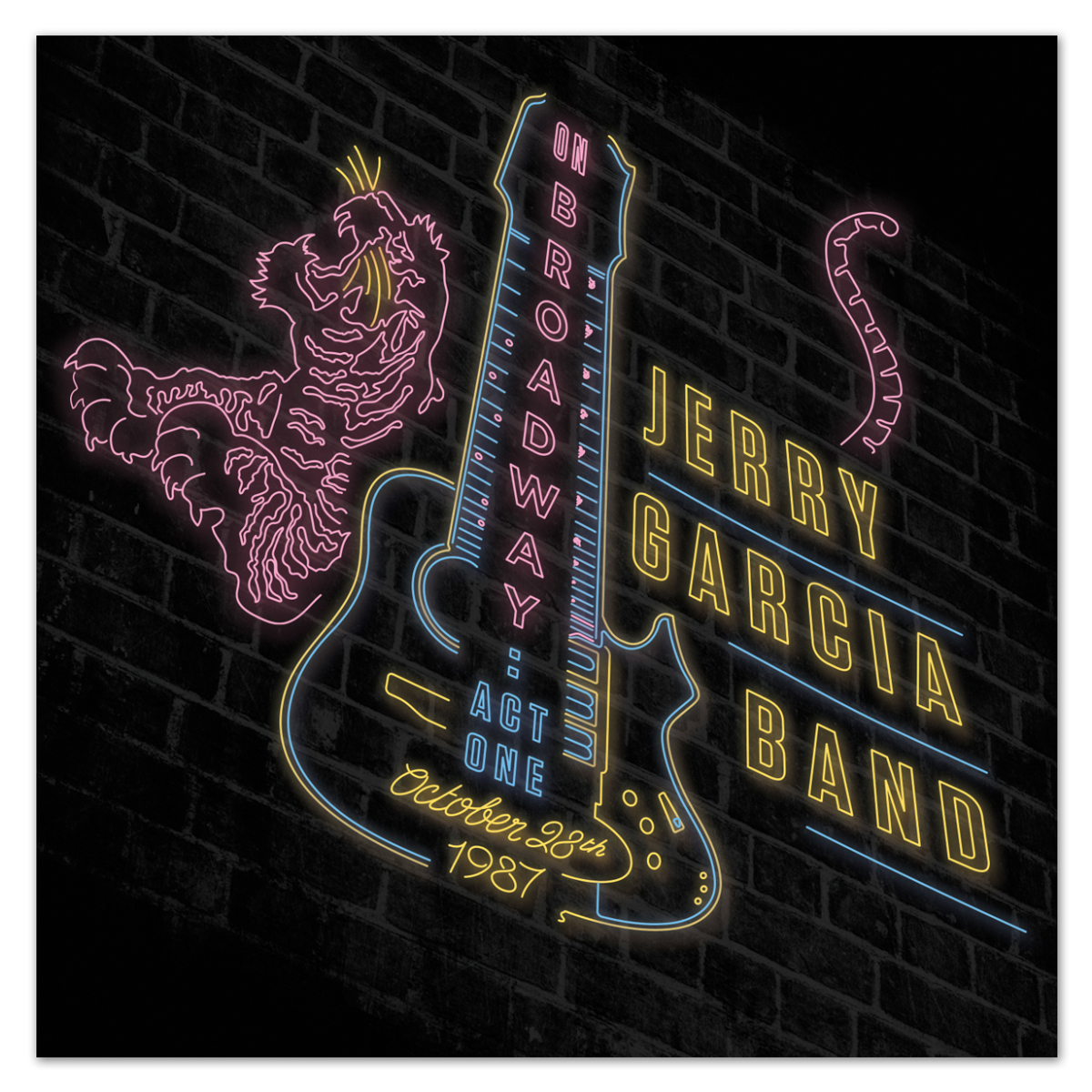 Jerry Garcia Band On Broadway Act One 10 28 87 3 Cd Set