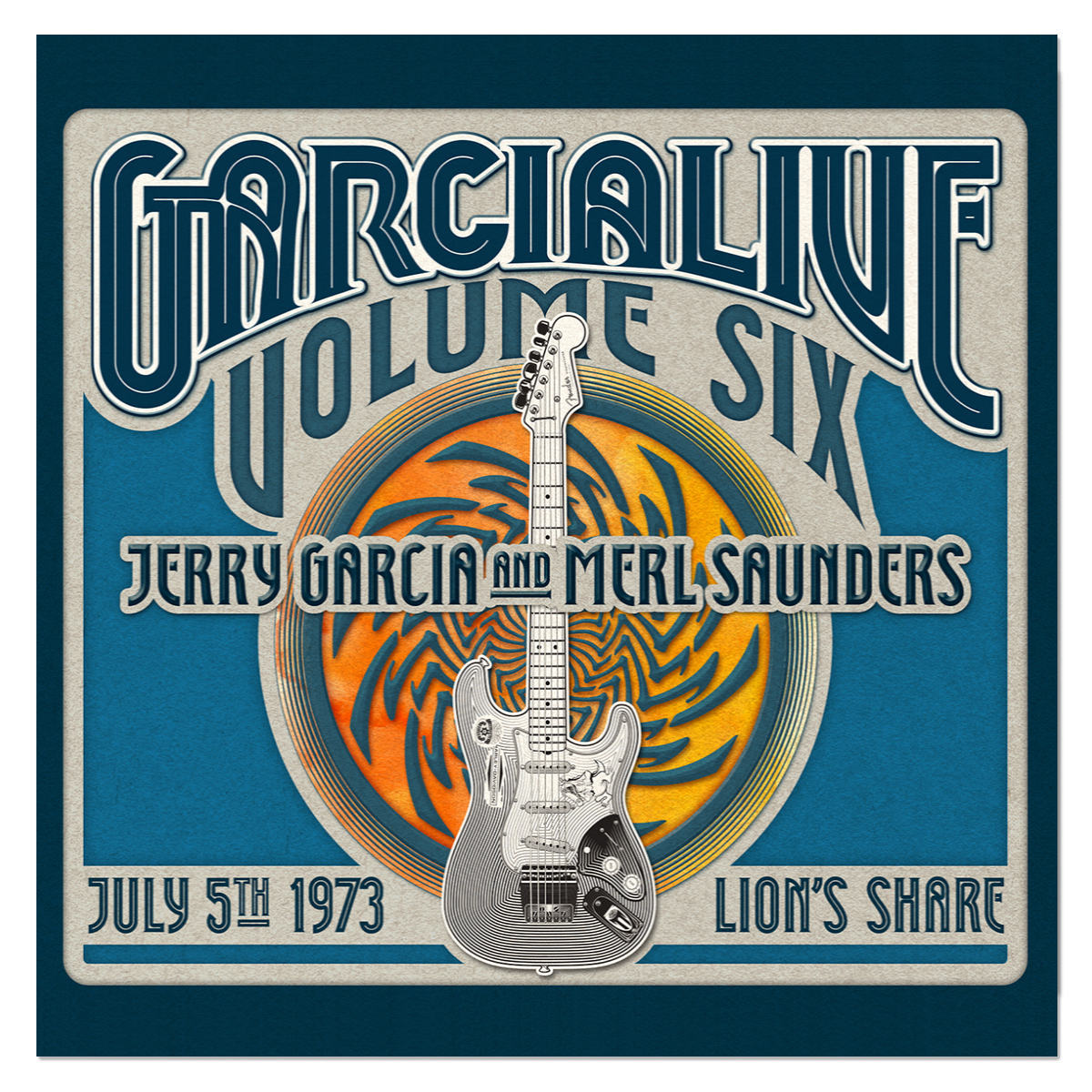 Jerry Garcia & Merl Saunders - GarciaLive Volume 6: 7/5/73 3-CD Set