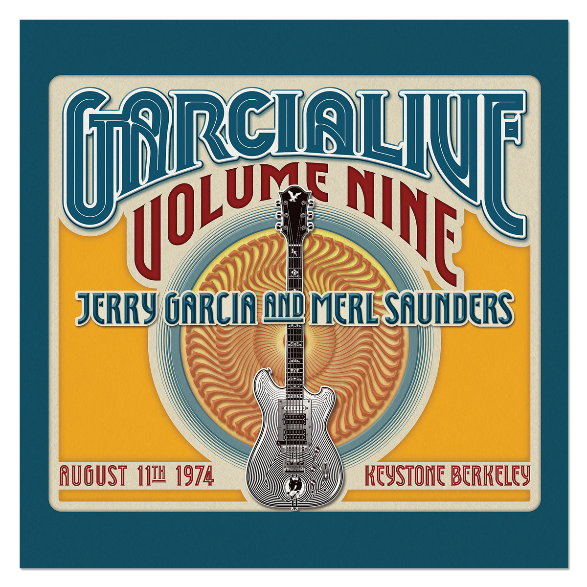 Jerry Garcia & Merl Saunders - GarciaLive Volume 9: 8/11/74 2-CD Set