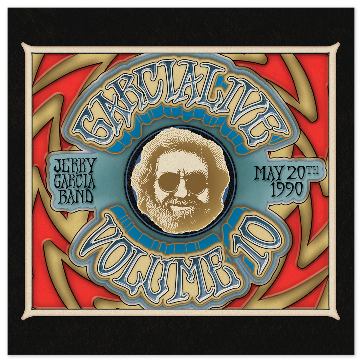 Jerry Garcia Band - GarciaLive Volume 10: 5/20/90 2-CD Set