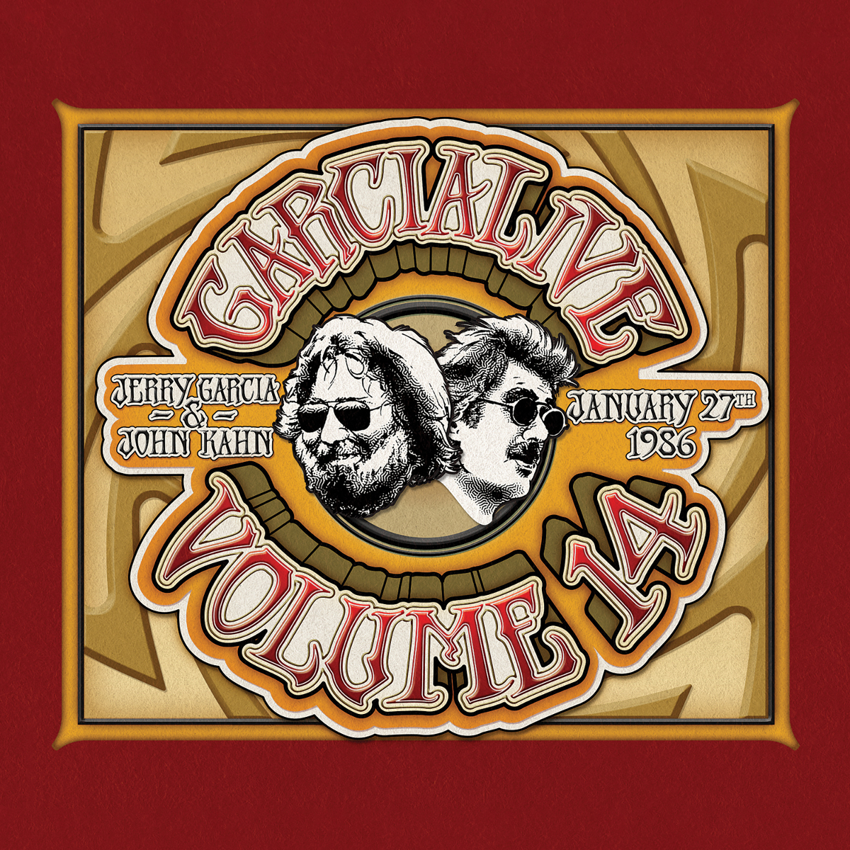 Jerry Garcia & John Kahn - GarciaLive Volume 14: 01/27/86 CD or Digital Download