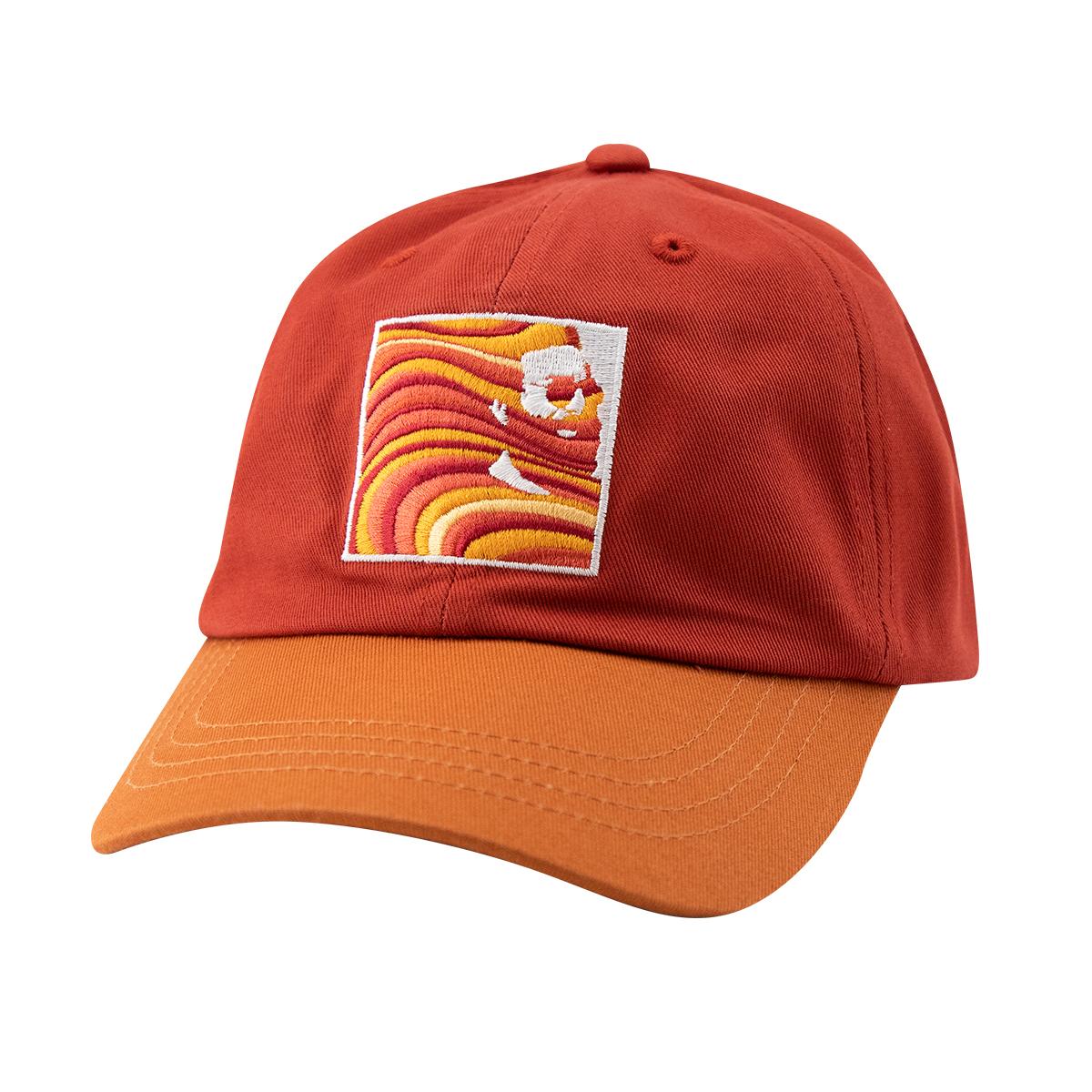 Garcia Hand Picked Dad Hat in Maroon