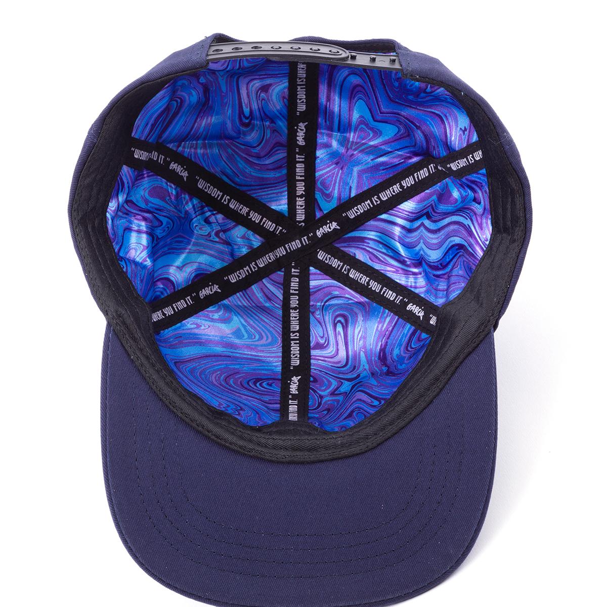 Garcia Hand Picked Navy Flat Brim Hat