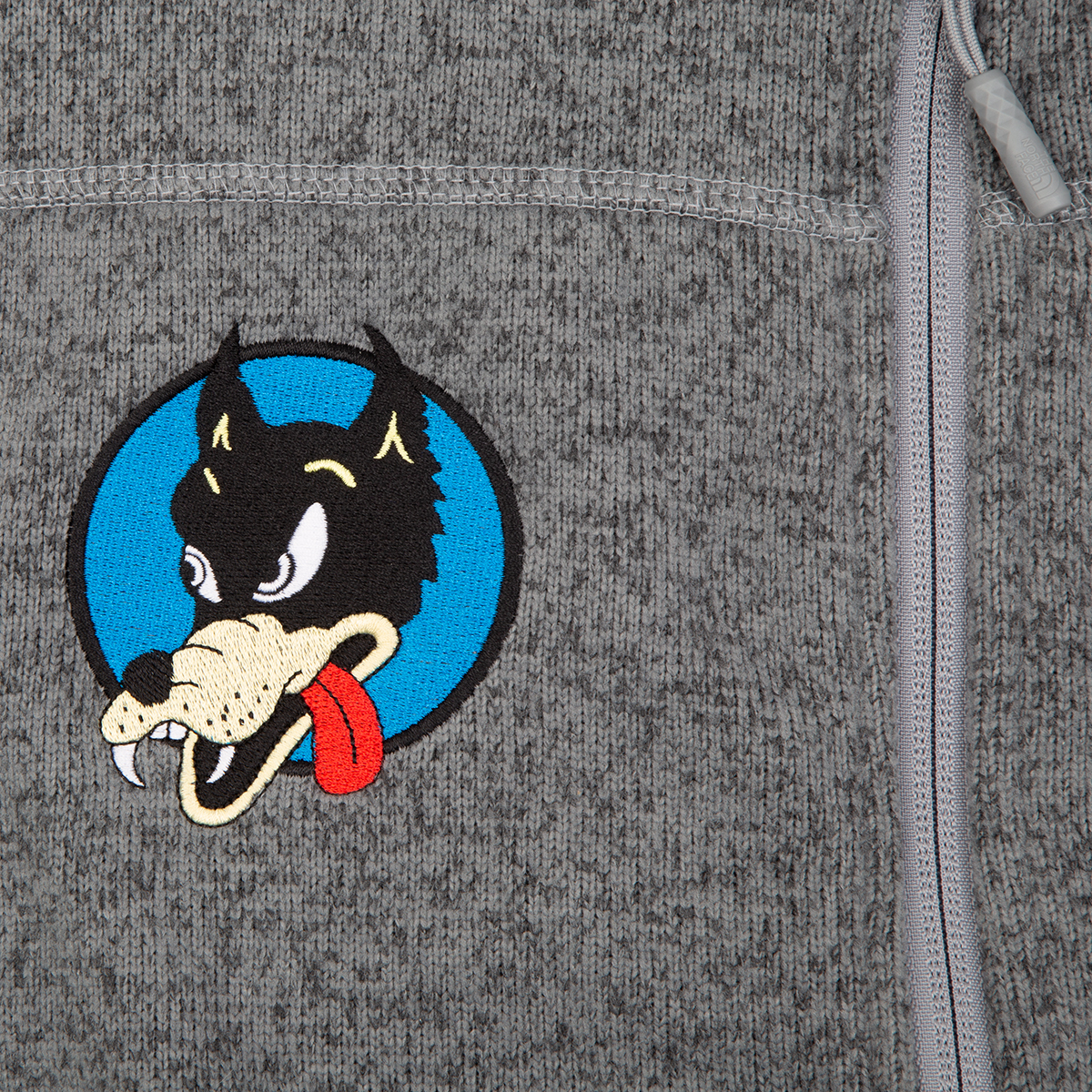 Wolf x The North Face Sweater Fleece Jacket