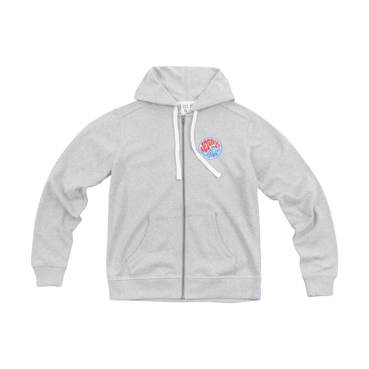 Jerry Garcia Heart Logo Hoodie