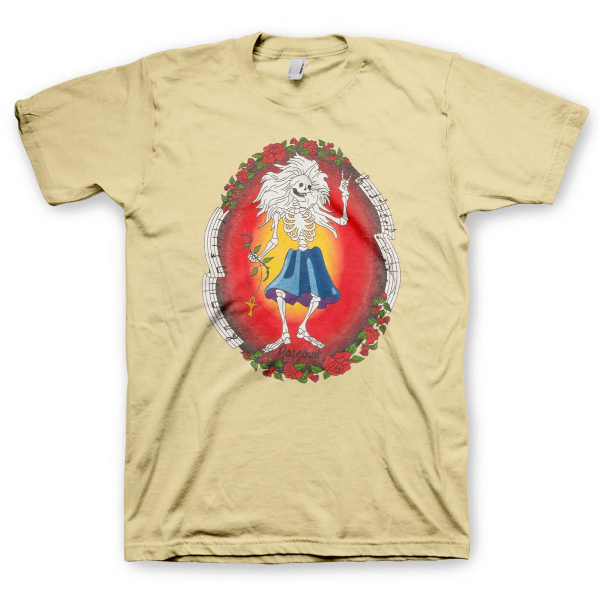 Jerry garcia rosebud t shirt shop the jerry garcia official store jerry garcia rosebud t shirt buycottarizona