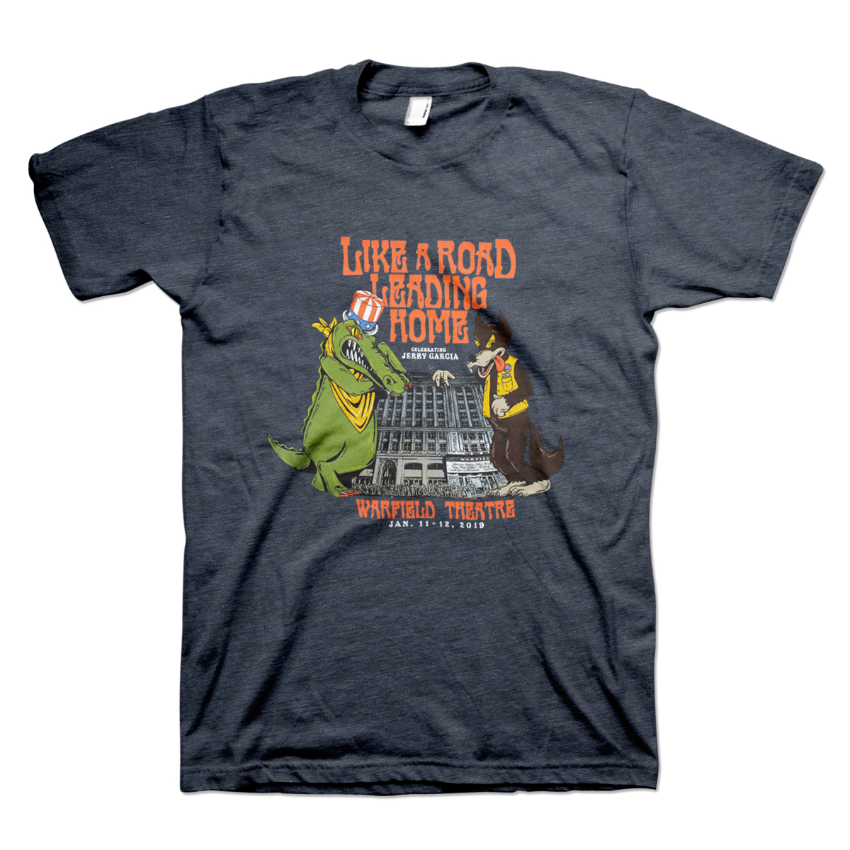 Like a Road Leading Home Men's Organic Event T-Shirt