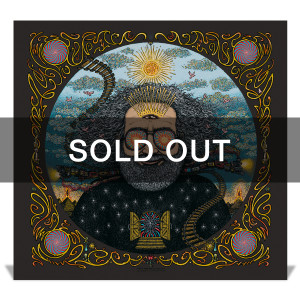 "*sold out* ""Bicycle Day 2017"" (Metallic Black Variant) Limited Edition Print by Marq Spusta"
