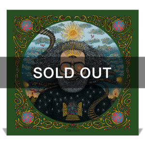 "*sold out* ""Bicycle Day 2017"" (Metallic Dark Green Variant) Limited Edition Print by Marq Spusta"