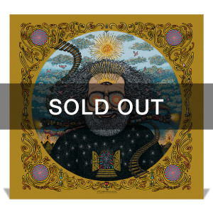 "*sold out* ""Bicycle Day 2017"" (Metallic Gold Variant) Limited Edition Print by Marq Spusta"