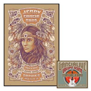 Jerry Garcia Band - GarciaLive Volume 7: CD & Poster Bundle