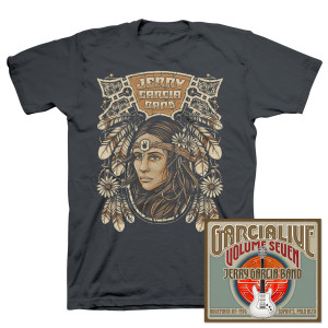 Jerry Garcia Band - GarciaLive Volume 7: CD & Organic T-Shirt Bundle