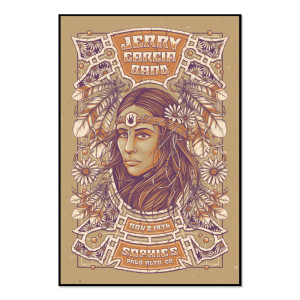 Jerry Garcia Band - GarciaLive Volume 7: Download & Poster Bundle