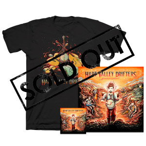 Hart Valley Drifters - Folk Time: CD, Poster & Organic T-Shirt Bundle