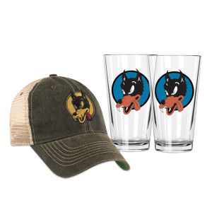 Garcia Wolf Hat & Pint Glass Bundle