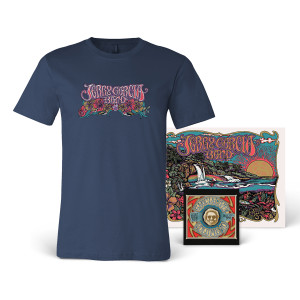 **SOLD OUT** Jerry Garcia Band - GarciaLive Volume 10: CD, Poster & Organic T-Shirt Bundle