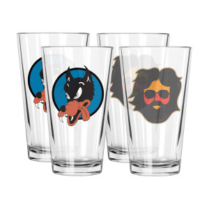 Pint Glass 4-Pack Bundle
