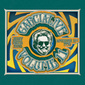 Jerry Garcia Band – GarciaLive Volume 11: 11/11/93 CDs or Download, Poster, & Organic T-Shirt Bundle