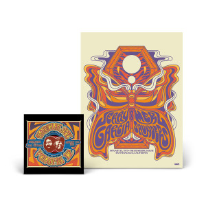 Jerry Garcia & Merl Saunders – GarciaLive Volume 12: 01/23/73 CD or Download & Poster Bundle