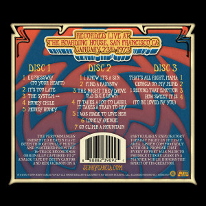 Jerry Garcia & Merl Saunders – GarciaLive Volume 12: 01/23/73 CD or Download, Poster, & Organic T-Shirt Bundle