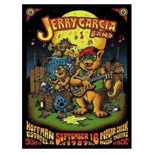 Jerry Garcia Band – GarciaLive Volume 13: 09/16/89 CD or Digital Download & Poster Bundle