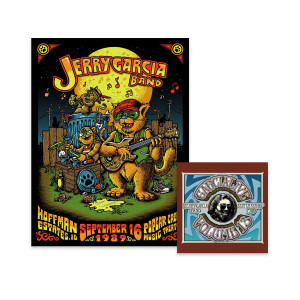 Jerry Garcia Band – GarciaLive Volume 13: 09/16/89 CD or Digital Download & Poster Bundle