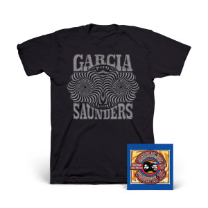 Jerry Garcia & Merl Saunders - GarciaLive Volume 15: 05/21/71 2-CD Set or Download & Organic T-Shirt Bundle
