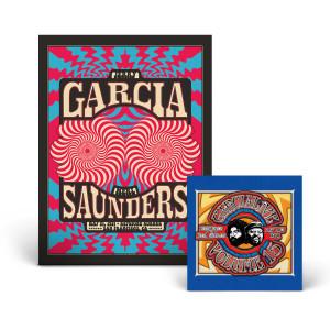 **SOLD OUT** Jerry Garcia & Merl Saunders - GarciaLive Volume 15: 05/21/71 2-CD or Download & Poster Bundle
