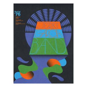 Jerry Garcia Band – GarciaLive Volume 17: NorCal '76 3-CD Set or Digital Download, Poster & Organic T-Shirt Bundle