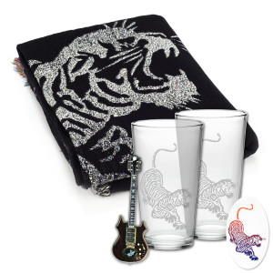 Jerry Garcia Tiger Gift Bundle