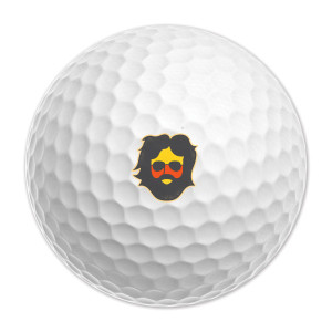 Jerry Garcia Keystone Golf Balls