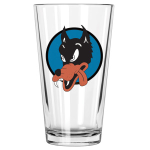 Wolf Pint Glass