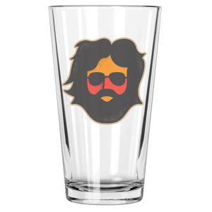 Jerry Garcia Keystone Pint Glass