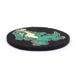Alligator Recycled Rubber Coaster