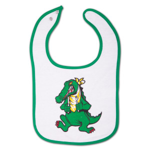 Alligator Infant Snap Baby Bib