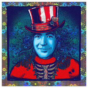 *SOLD OUT* Bicycle Day 2021: Captain Trips (Mirror Shatters) by Zoltron