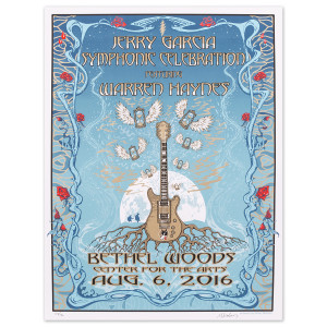 Jerry Garcia Symphonic Celebration Bethel 2016 Event Poster