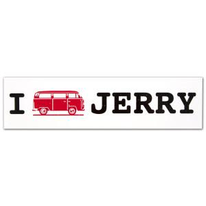 Jerry Garcia Bus Bumpersticker