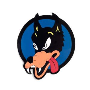 Jerry Garcia Wolf Sticker