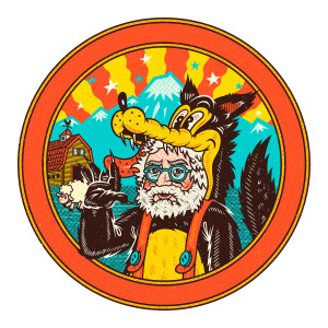 Garcia in Wolf's Clothing Sticker