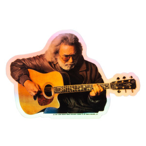 Acoustic Jerry Holographic Sticker