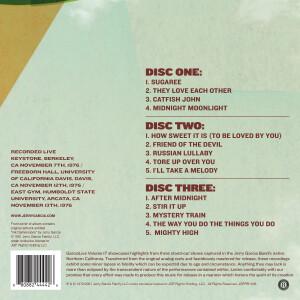 Jerry Garcia Band – GarciaLive Volume 17: NorCal '76 3-CD Set