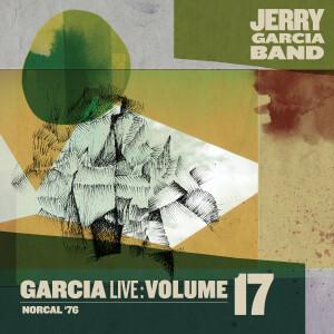 Jerry Garcia Band – GarciaLive Volume 17: NorCal '76 3-CD Set or Digital Download