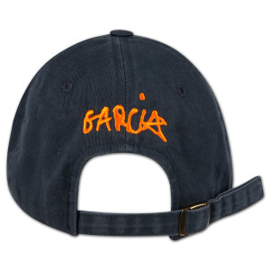 Handprint Baseball Hat with Orange Logo