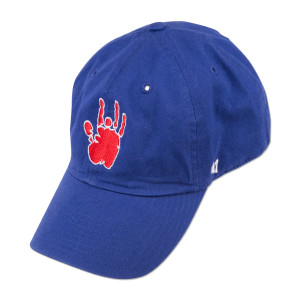 Jerry Garcia Royal Blue Handprint Baseball Hat