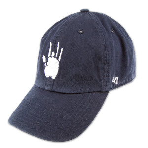 Jerry Garcia Navy Handprint Baseball Hat