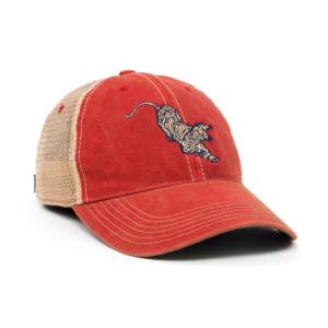 Jerry Garcia Tiger Mesh Snapback Hat